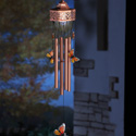 Solar Power Metal Butterfly Wind Chime