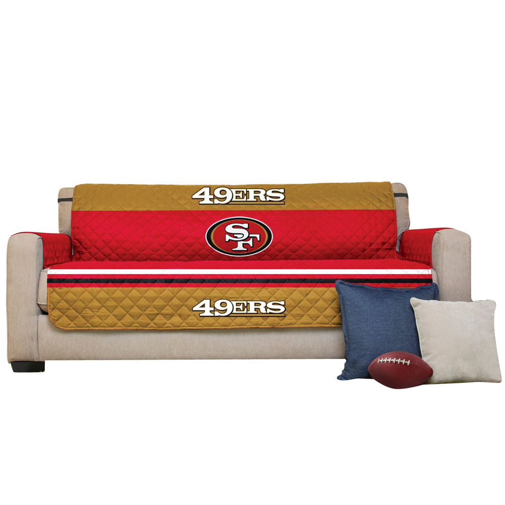 Nfl team logo furniture cover by collections etc ebay for Nfl furniture covers