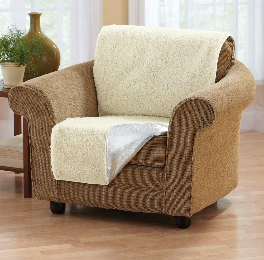 Collections Etc - Instant Chair Warmer Fleece Seat Cover at Sears.com
