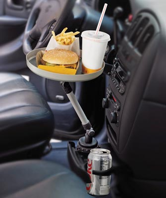 Swivel Car Tray