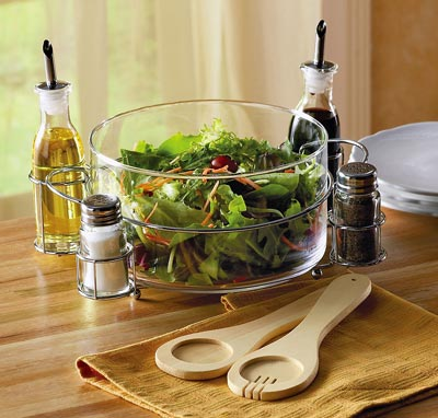 8 Piece Complete Salad Serving Set
