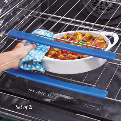 Silicone Oven Rack Guards - Set of 2