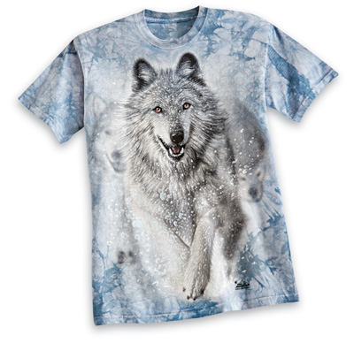 Winter Wolf Short Sleeves T- Shirt