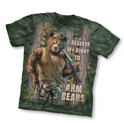 Right to Arm Bears Novelty Tee