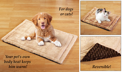 Reversible Therapeutic Thermal Pet Bed
