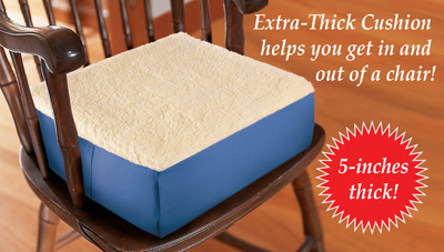 Incroyable Extra Thick Foam Chair Cushion
