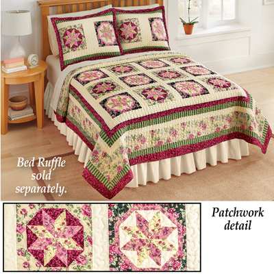 Serenade Patchwork Star Quilt