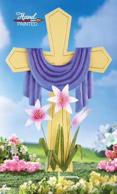 Easter Cross Yard Decoration From Collections Etc