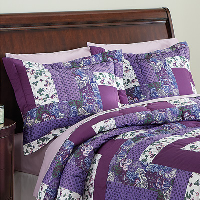 Caledonia Quilted Floral Pillow Shams Set