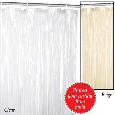 Plastic Shower Curtain Liner