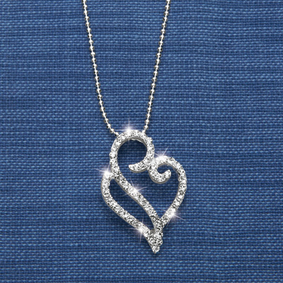 Boundless Love Heart Pendant Necklace