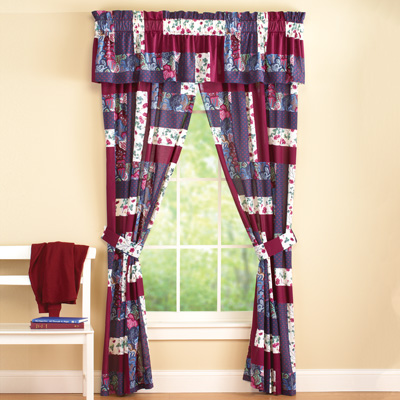 Caledonia Patchwork Drapes