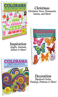 Colorama Designs Coloring Books