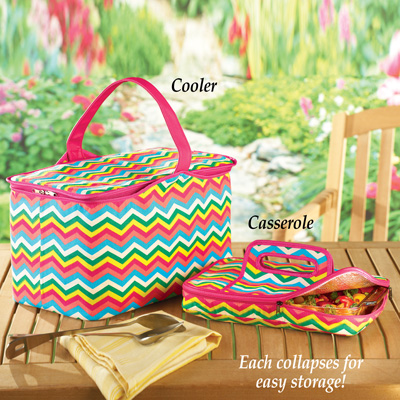 Colorful Insulated Food Carriers