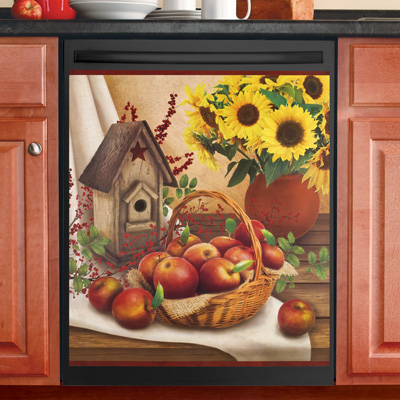 Country Apple Dishwasher Magnet