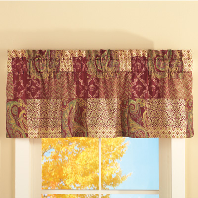 Paisley Patchwork Valance