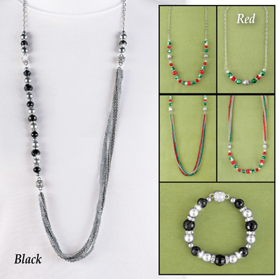Interchangeable Beaded Necklace