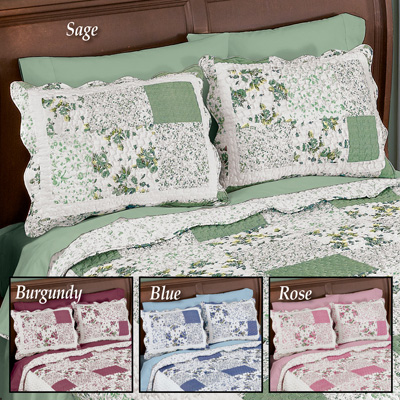 Hadley Floral Patchwork Pillow Sham