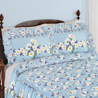 Daisy Bloom Floral Pillow Sham