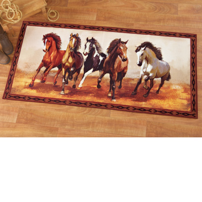 Western Galloping Horse Rug