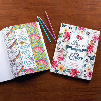 My Favorite Verses to Color Coloring Book