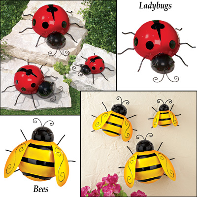Climbing Insects Decoration - Set of 3