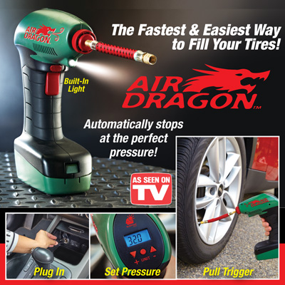 Air Dragon Electronic Tire Air Pump