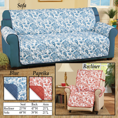 Reversible Florence Quilted Furniture Cover