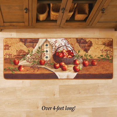 Country Apple Foam Floor Runner