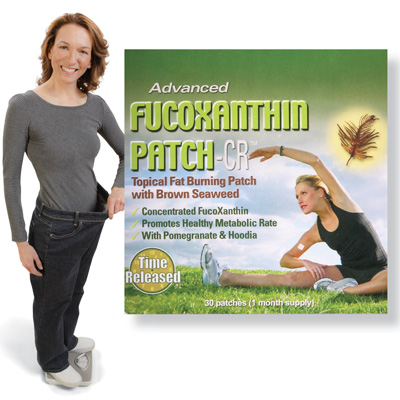 Advanced Fucoxanthin All Natural Weight Management Patch