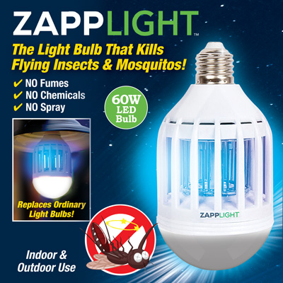ZappLight Chemical Free Fly Repeller