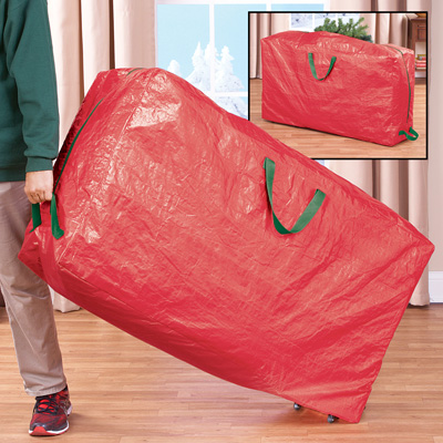Christmas Tree Storage Bag Tote with Wheels
