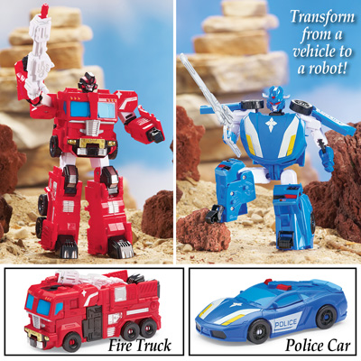 Autobot Transformer Rescue Vehicle Toy
