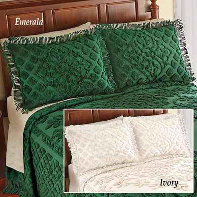 Royalty Elegant Chenille Pillow Sham