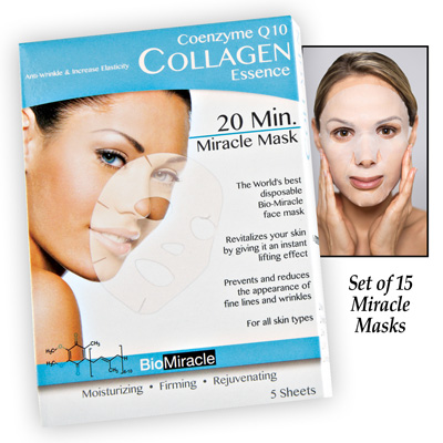 Collagen Miracle Face Mask - Set of 15