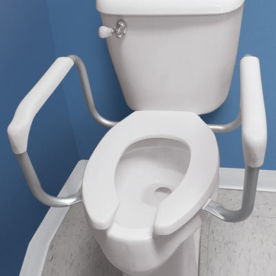 Safety Toilet Rail Support