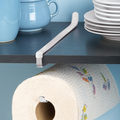 Under-the-counter Hanging Paper Towel Holder