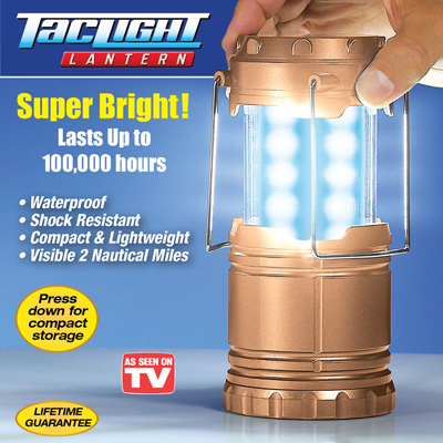 Bell and Howell TacLight Camping Lantern