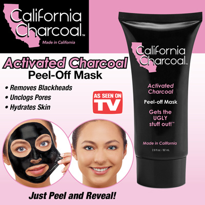 California Activated Charcoal Face Mask