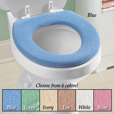Soft n Comfy Cloth Toilet Seat Cover