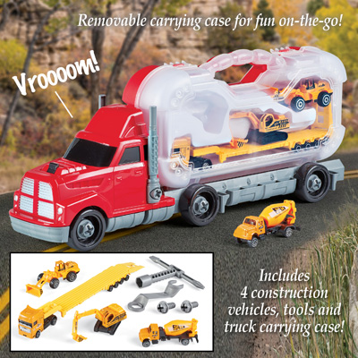 Take Apart Tool Truck Construction Carrier Kit