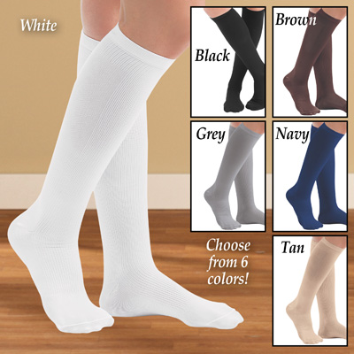 Women's Compression Socks, Firm 20-30 mmHg