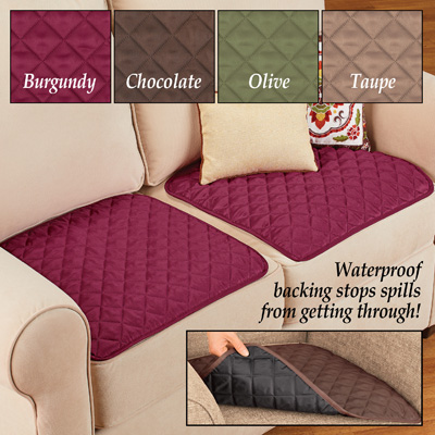 Quilted Waterproof Seat Protector - Set of 2
