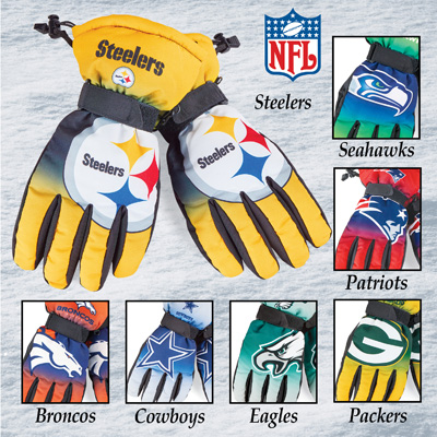 NFL Team Insulated Gloves