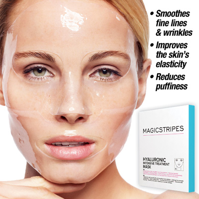 Hyaluronic Intensive Treatment Mask, 3pk.