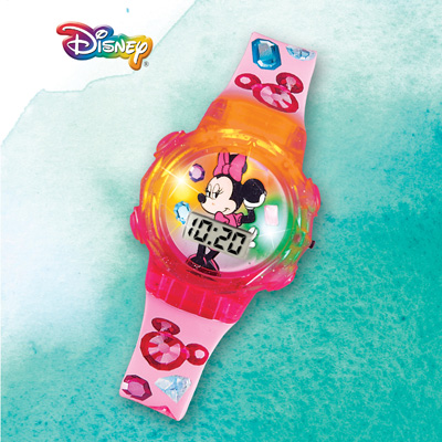 Disney Colorful Lighted Digital Minnie Watch