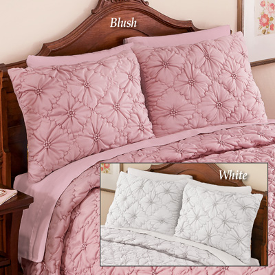 Elegant Madison Pintuck Quilted Pillow Sham