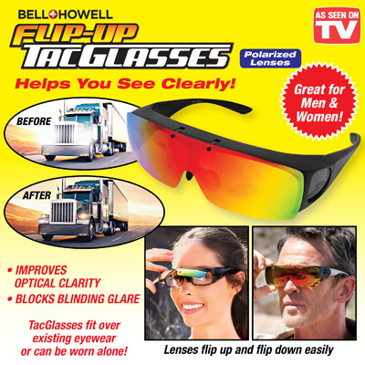 Bell and Howell Flip-Up TacGlasses