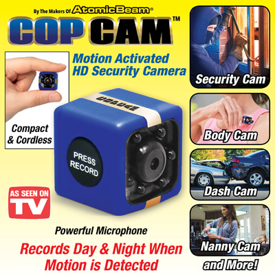 Cop Cam Elite - As Seen On TV
