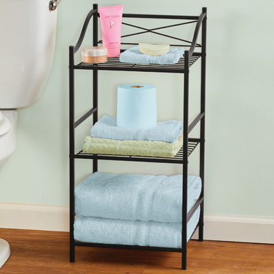 Contemporary Style 3-Tier Wire Storage Rack